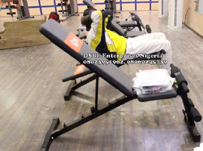 Adjustable Sit-Up Bench