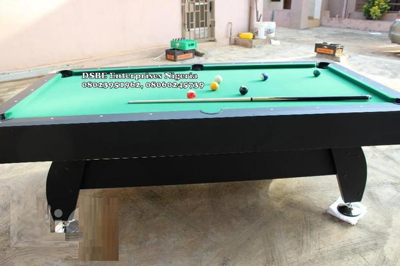 8ft Standard Deluxe Snooker Pool Table