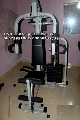 3 Station Multi-Purpose Gym Equipment