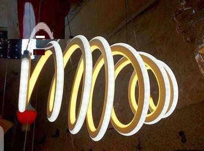 Coiled Stylish Dropping Pendant Light