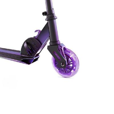 Neon Vector Purple Foldable Scooter Led