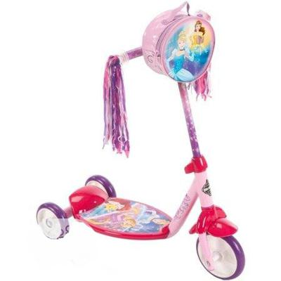 Huffy Disney Princes 3-Wheel Pink Scooter